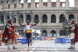 Calendario Maratone Internazionali.Xxv Maratona Internazionale Di Roma Una Giornata Di Festa